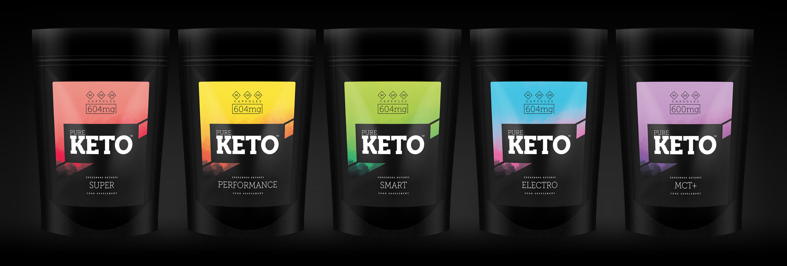 Exogenous Ketones UK - Pure Keto Line up of products